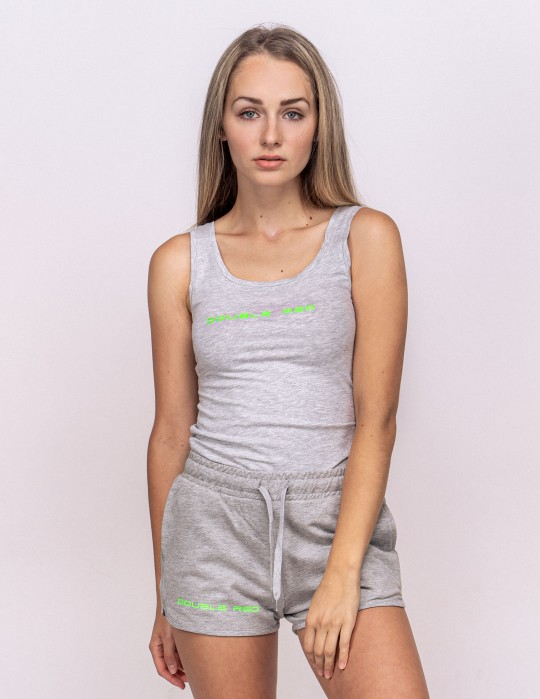 DOUBLE RED Basic Summer Outfit Grey