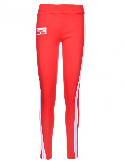 Leggins SPORT IS YOUR GANG 3D Logo Red