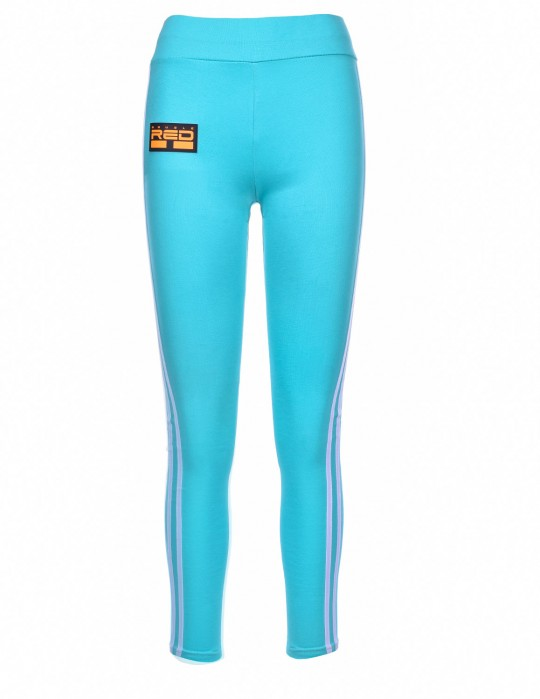 Leggins SPORT IS YOUR GANG 3D Logo Turquoise