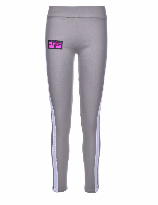 Leggins SPORT IS YOUR GANG 3D Logo Grey