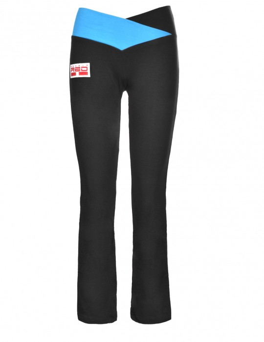 Leggins SPORT IS YOUR GANG Geometric 3D Logo Black/Blue