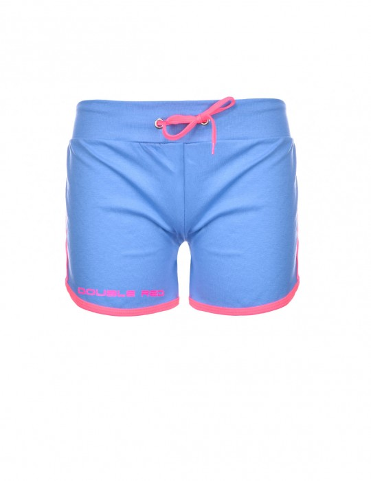 DOUBLE RED Women's Short Neon Blue
