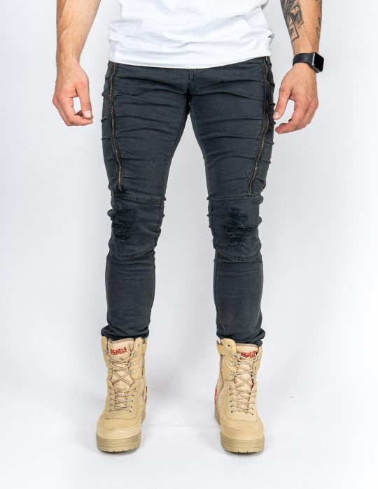 The PUNISHER Pants Blue