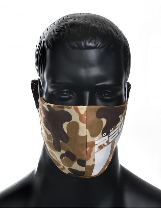 REDLIVE RESCUER Soldier Trademark Logo White