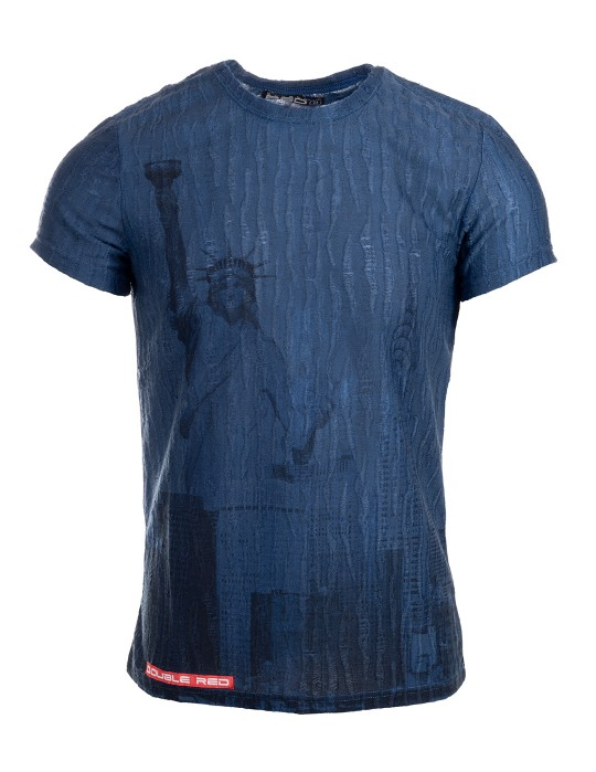 T-Shirt RED LIBERTY Blue