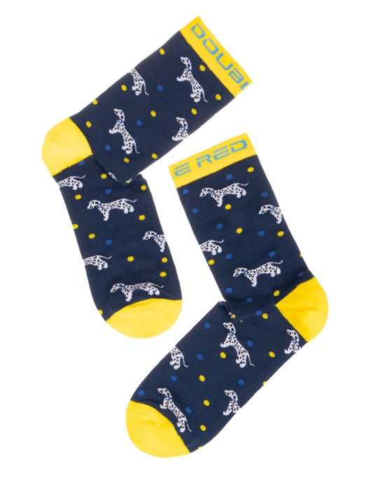 DOUBLE FUN Socks Dog Lover Dalmatine