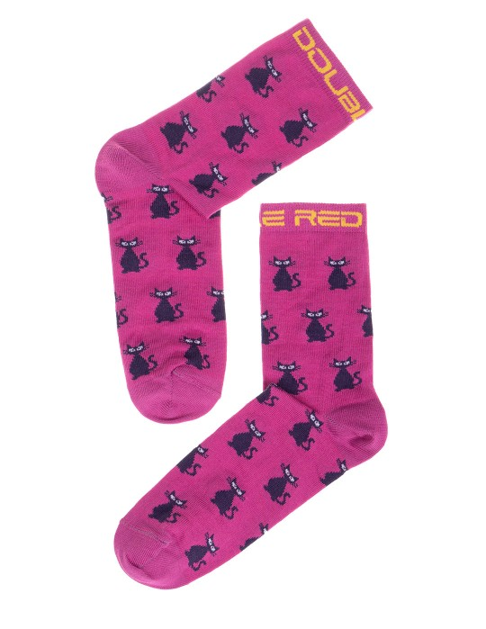 DOUBLE FUN Socks Azrael Cat