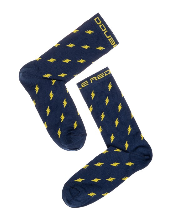 DOUBLE FUN Socks Thunder Storm