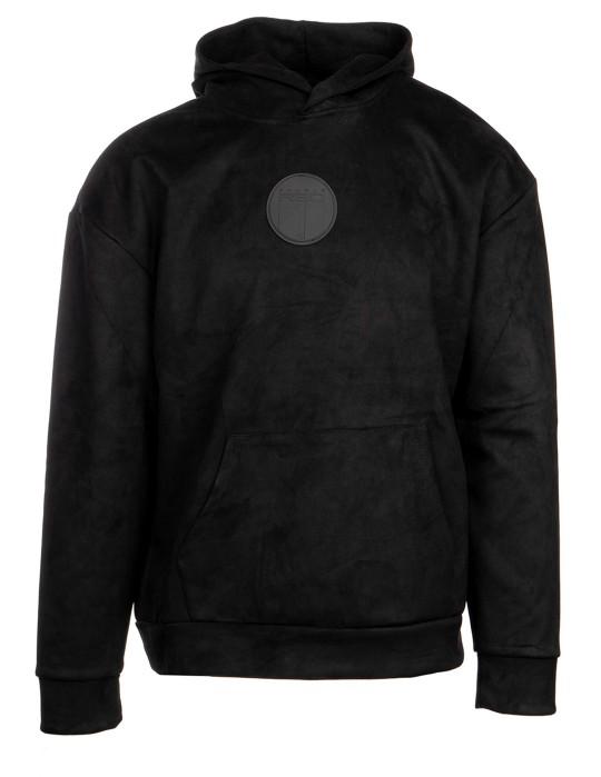 VELVET Sweatshirt All Black