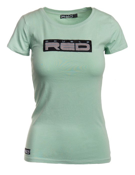 Womens T-Shirt Basic Shadow Green