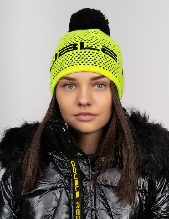 NISEKO Neon Yellow Unisex Winter Cap