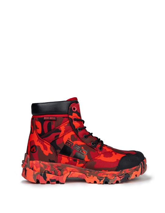 Red Hell Flammable Boots