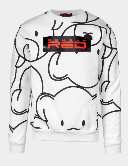TEDDY Sweatshirt  White