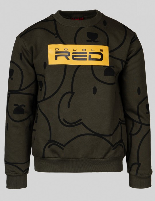 TEDDY Sweatshirt Olive Green