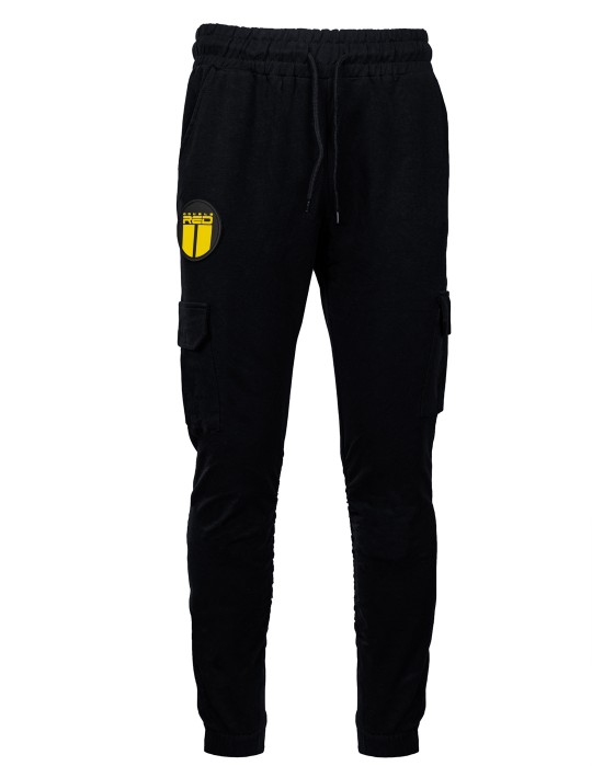 Sweatpants ARMADEN Side Pocket Black