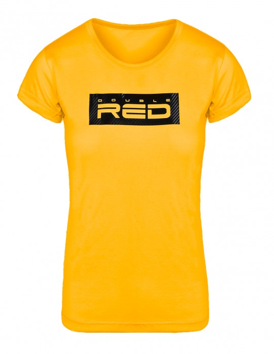 Women's T-Shirt Basic Yellow Carbon