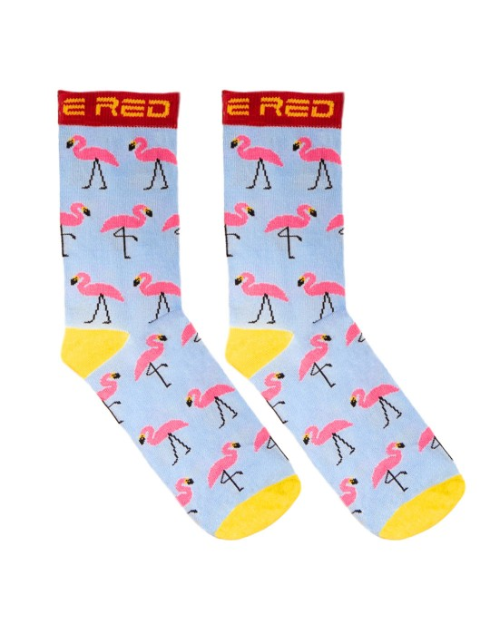 DOUBLE FUN Socks Flamengo Blue Sky