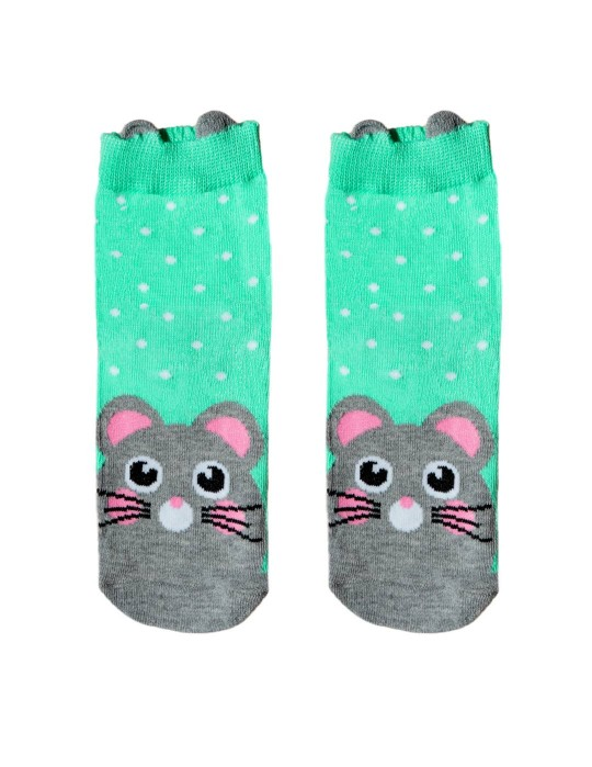 KID FUN Socks 3D Ears Mousy