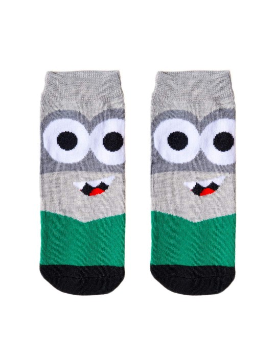 KID FUN Socks Monster CO. Grey