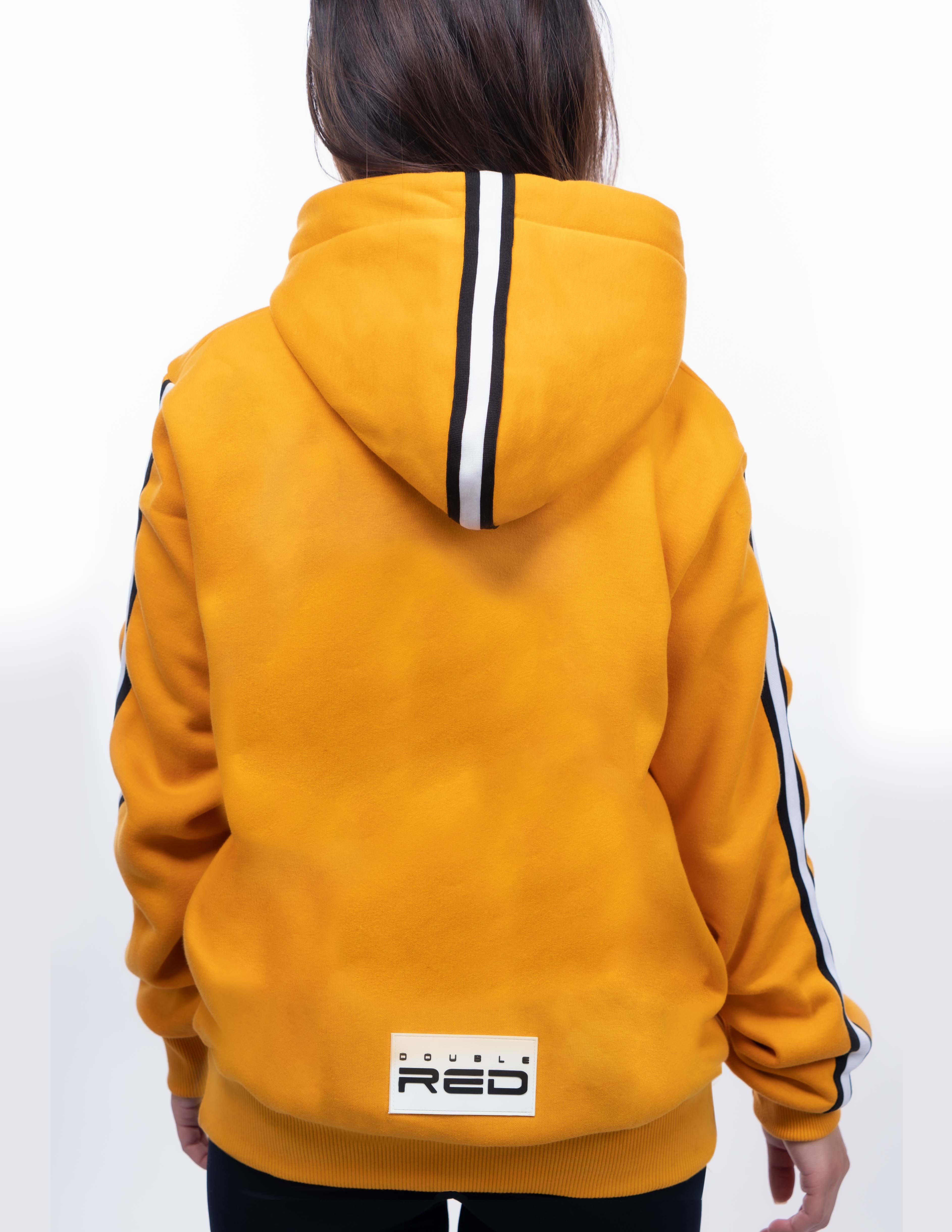 UNISEX OUTSTANDING FCK COVID LIMITED EDITION Hoodie Yellow