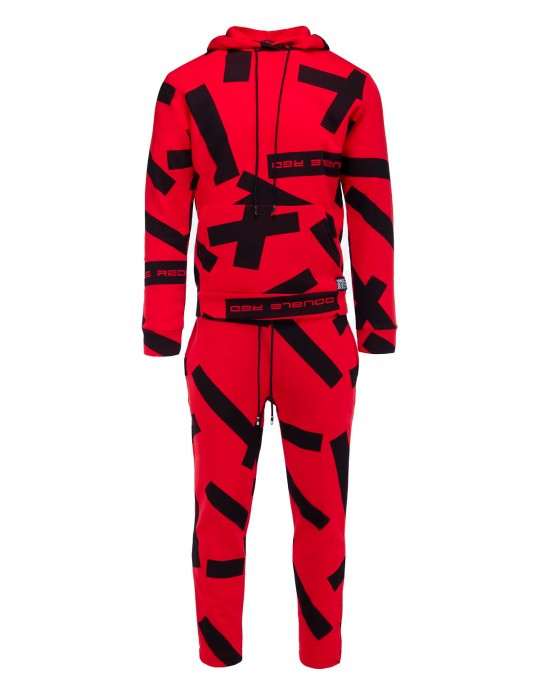 GEOMETRIX Red Tracksuit