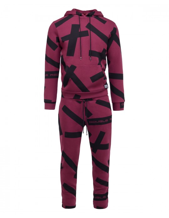 GEOMETRIX Bordo Tracksuit