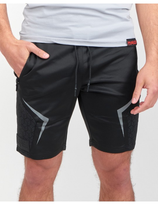 REFLEXERO SPORT IS YOUR GANG All Black Edition Shorts