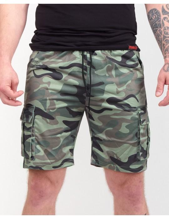 SOLDIER Shorts Dark Green Camo