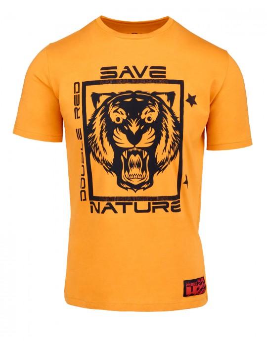 Natural Predators Tiger T-Shirt Orange
