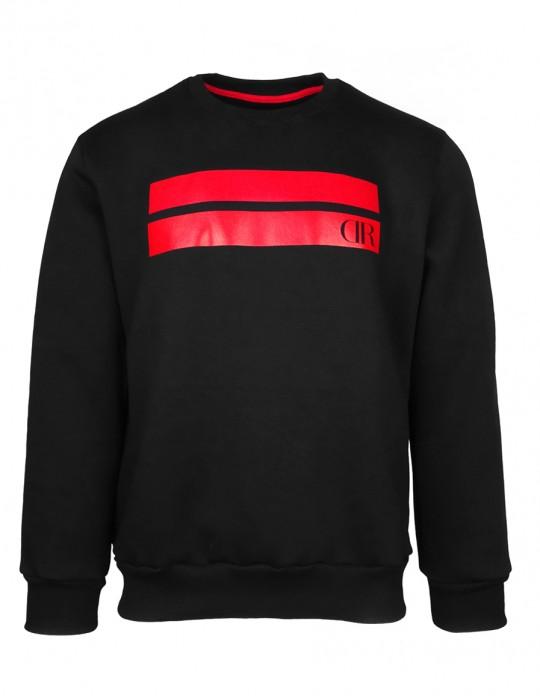 DR M Sweatshirt Stripes Black