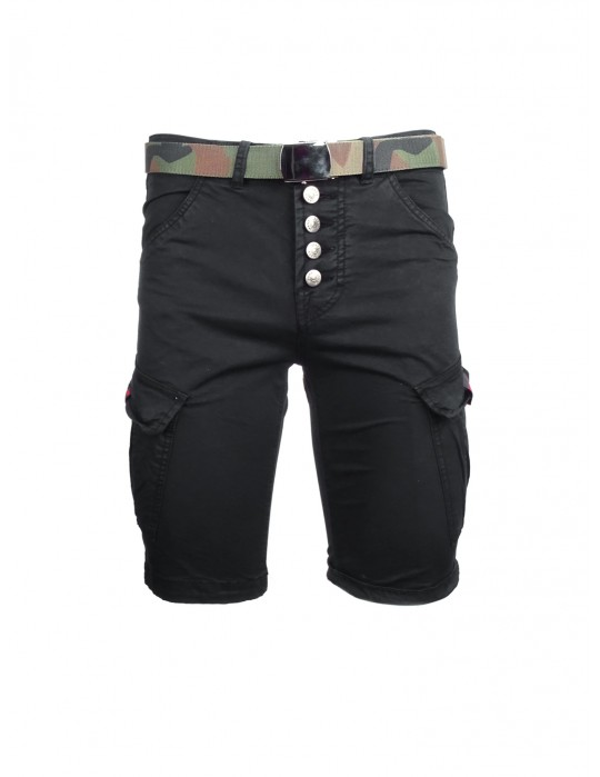 Cargo Shorts Black