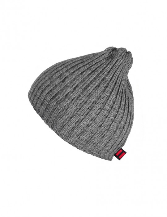 DR Knit Beanie Hat Grey