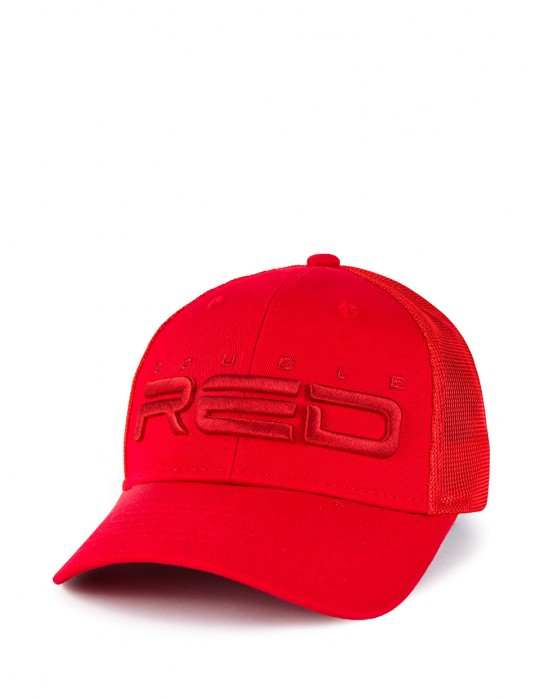 DOUBLE RED Airtech Mesh Cap Red