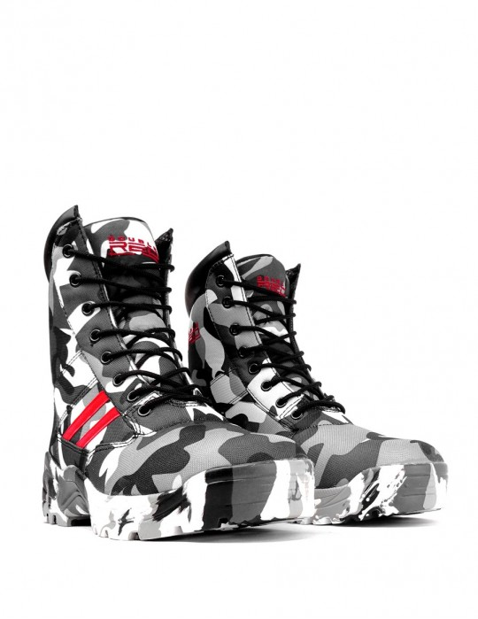 Boots B&W Camodresscode Red Desert