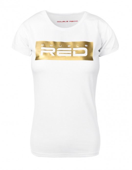 DR T-Shirt W GOLDFOREVER White Basic