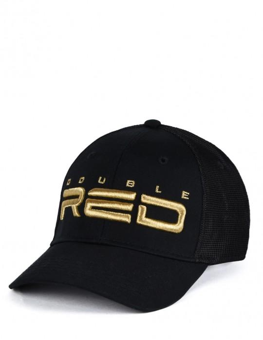 All Logo Metals Cap Goldforever Black