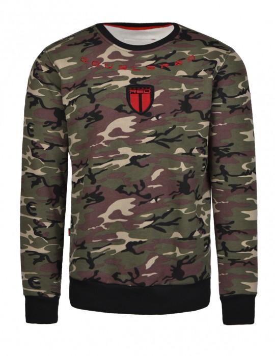 Soldier Sweatshirt Green Camo