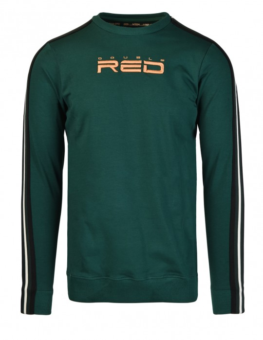 ELEGANCE All logo Sweatshirt Green/Orange
