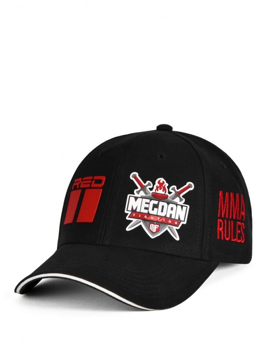 MMA RULES Megdan Fighting Cap Black