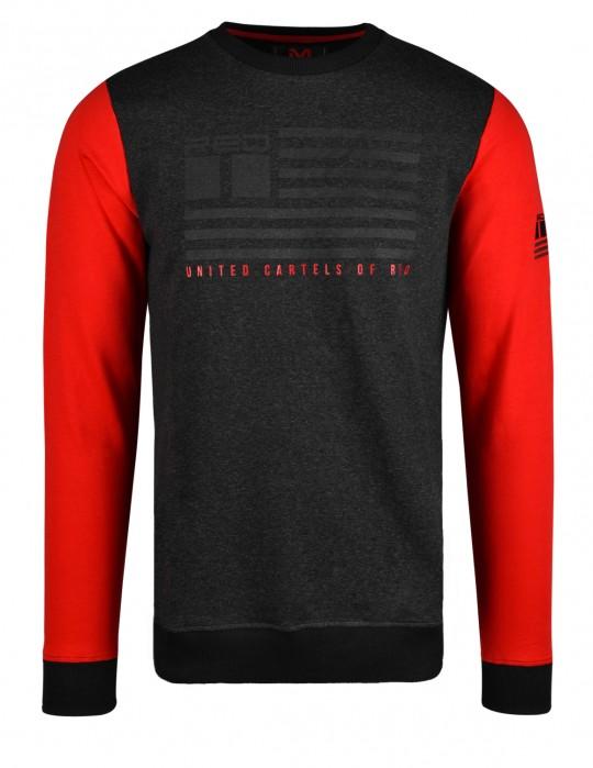 United Cartels Of Red UCR Grey/Red Sweatshirt