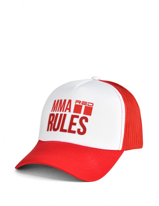 MMA RULES Red Cap