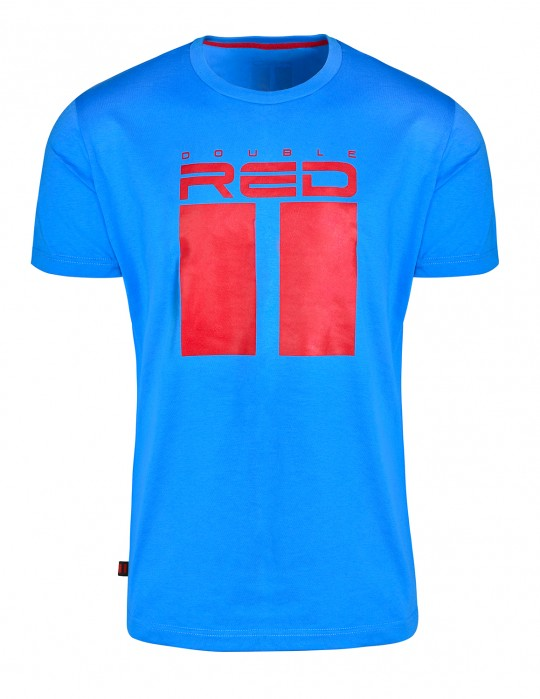 DR M All Logo T-shirt Blue
