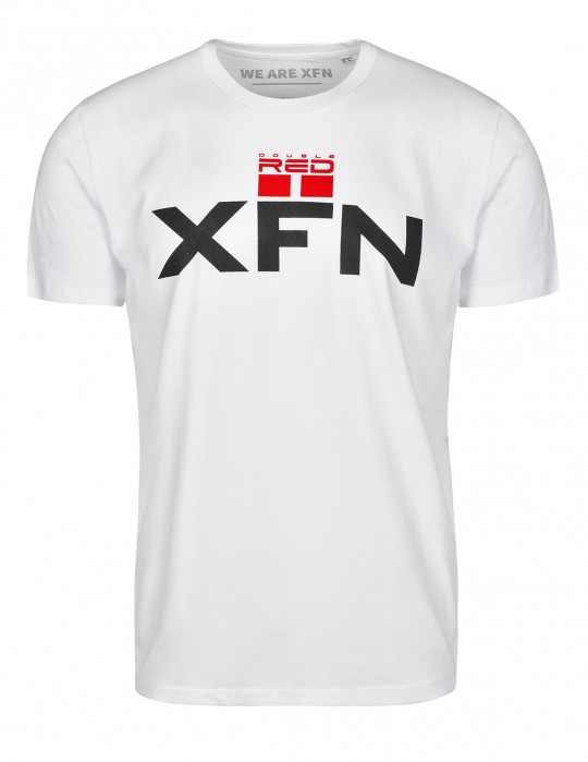 T-Shirt XFN & DOUBLE RED Cooperation White
