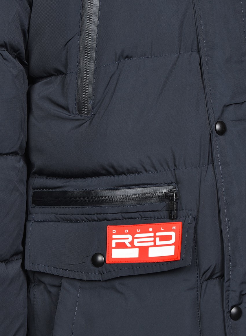 RED EXPLORER Parka Blue