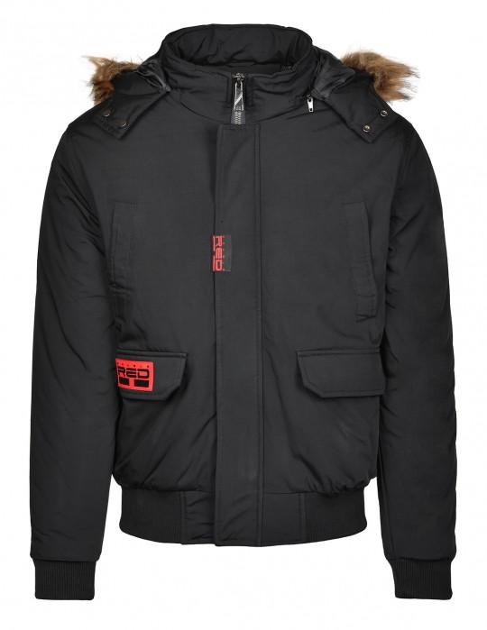 STREET HERO Jacket Winter Edition Black