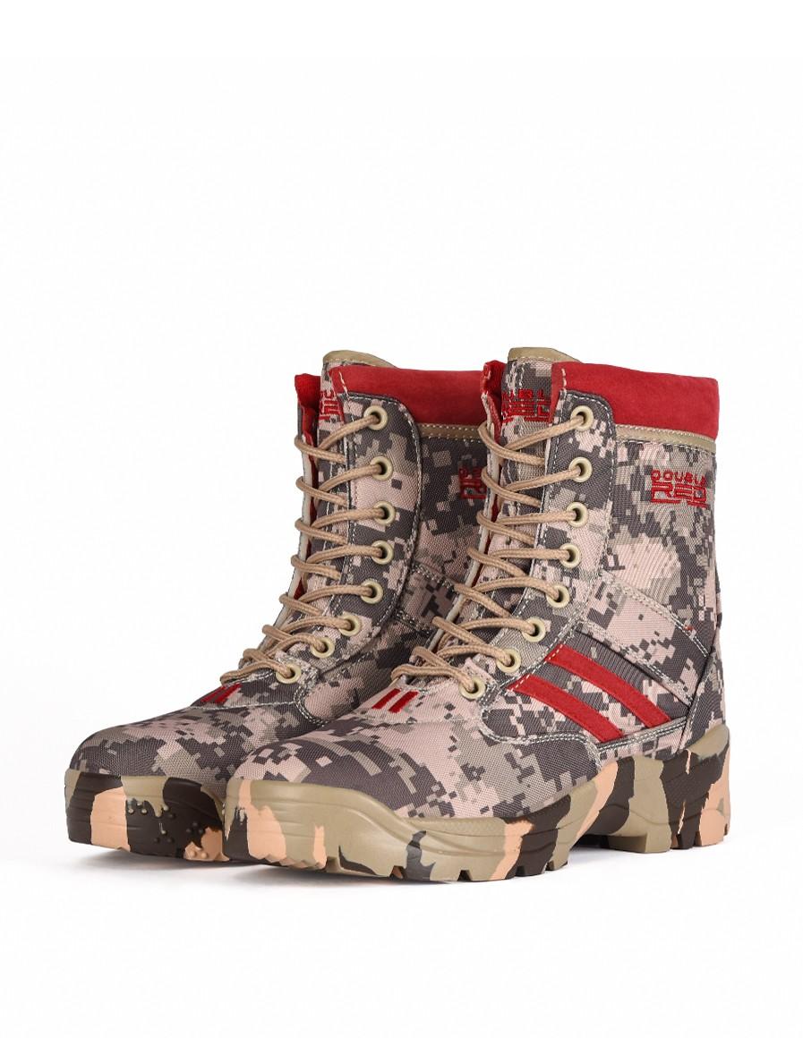 Boots Red Jungle Digi Grey