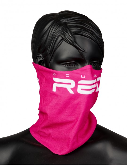 RED SQUAD Snood Pink