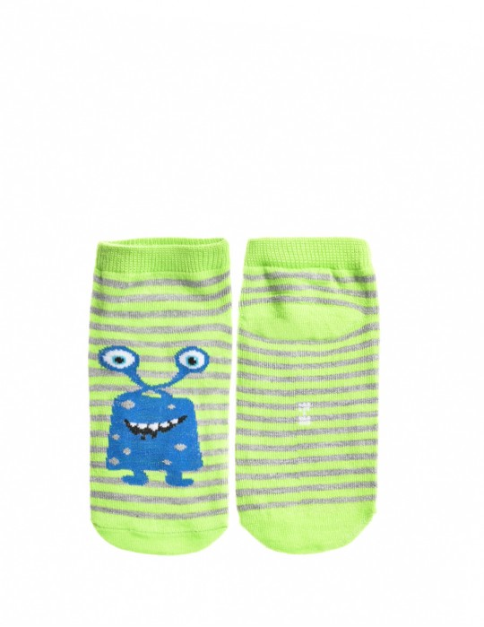 KID Fun Socks Blue Alien