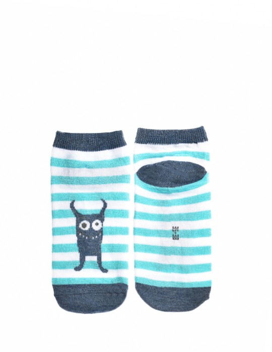 KID Fun Socks Blue Boogie