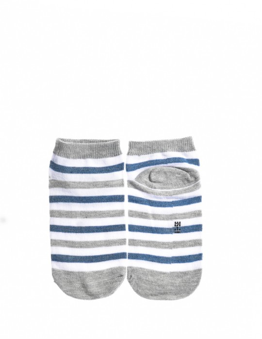 KID Fun Socks Stripes Grey